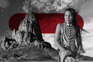 Το Κόκκινο Σύννεφο, ο περίφημος αρχηγός της φυλής, φωνάζει μια μέρα μπροστά του τους τρεις γιους του (ΧΟΡΧΕ ΜΠΟΥΚΑΪ)