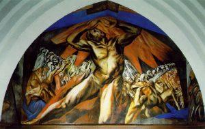 Prometheus:  a Titan in Greek mythology