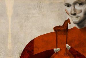 Ένα έθνος που αρνείται v' αντικρύσει τον εαυτό του στον καθρέφτη, η Ελλάδα, δεν αποτελεί έδαφος κατάλληλο για την απογυμνωτική σκέψη του Φλωρεντινού.