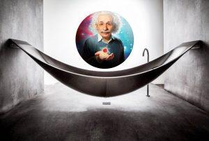 Ο Αϊνστάιν συνήθιζε να κάθεται μέσα στην μπανιέρα επί ώρες – πιθανόν εξαιτίας του Αρχιμήδη!