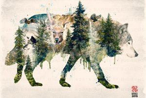 Πώς μπορούσα μέσα σ' έναν τέτοιο κόσμο να μην είμαι ένας λύκος της στέπας. (ΕΣΣΕ)