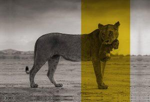 Λέαινα και ζώα (ΑΙΣΩΠΟΣ)