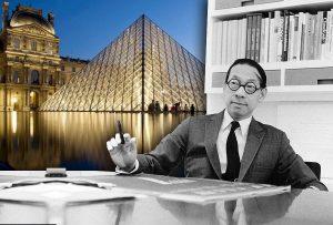 I. M. Pei (26 Απριλίου1917–16 Μαΐου2019). Ο δημιουργός της γυάλινης Πυραμίδας του Λούβρου.
