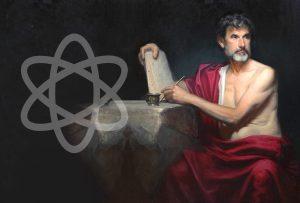 Democritus (460-370 BC) (SIMON CRITCHLEY)